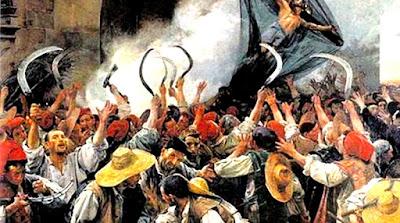 Sublevación de los segadores catalanes