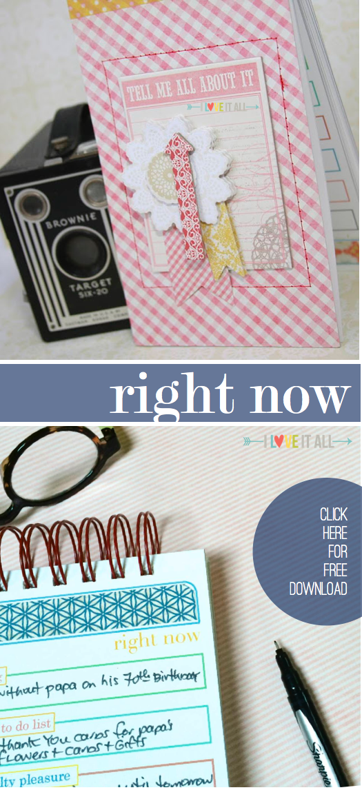 #download #scrapbooking #mini album #currently #right now #I Love It All