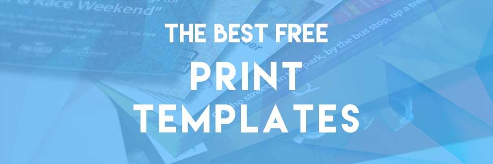 best free print templates