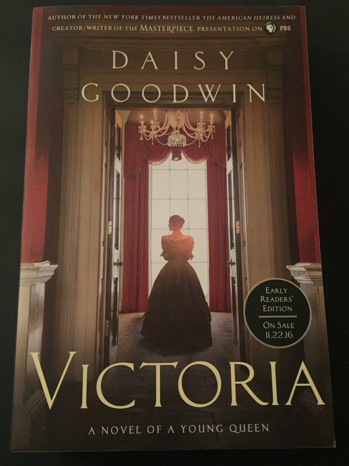 Warm Up With A New Book - Victoria By Daisy Goodwin -6245