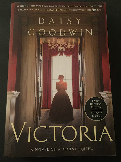 Daisy Goodwin author, Daisy Goodwin book, Victoria A Novel of a Young Queen, Historical fiction novels, Victoria Novel, Victoria by Daisy Goodwin, young adult reading, book review of Victoria