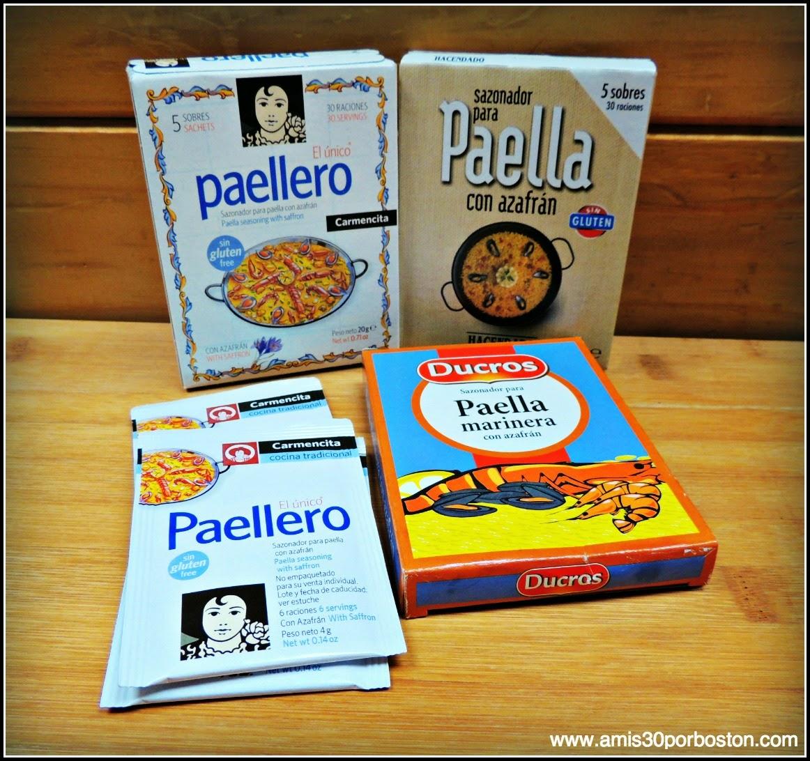 Los Productos Españoles en mis Maletas a Boston: Especias