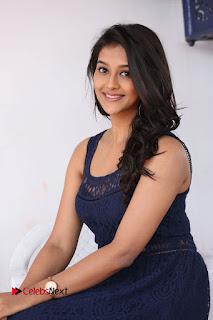 Actress Pooja Jhaveri Stills in Short Dress at Dwaraka Movie Interview .COM 0167.JPG