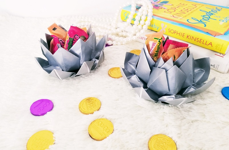 DIY Paper Lotus for Chinese New Year