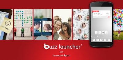 Create your own homescreen with this new Buzz Launcher for Android devices