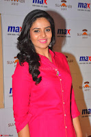 Sree Mukhi in Pink Kurti looks beautiful at Meet and Greet Session at Max Store (34).JPG