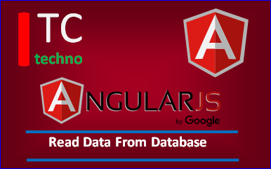 PHP AngularJS Read Data From Database