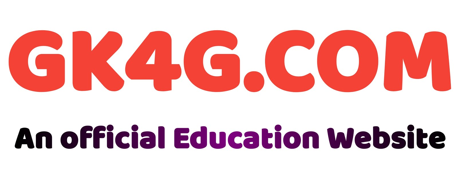 GK4G The Official Education Website
