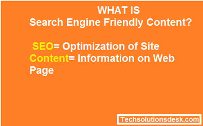 Search Engine Friendly Content