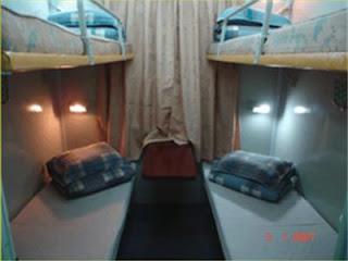 vé tàu khoang 4 giường nằm hạng thường