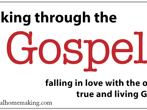 walking through the gospel: believing and following Jesus now {part 2}