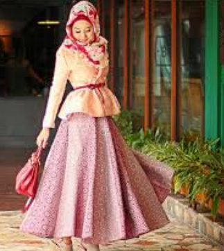 model batik kombinasi dian pelangi