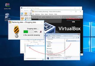 Cara Mengaktifkan Fitur Drag and Drop Di Virtualbox
