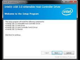 Intel USB 3.0 Driver Windows 10 64 Bit