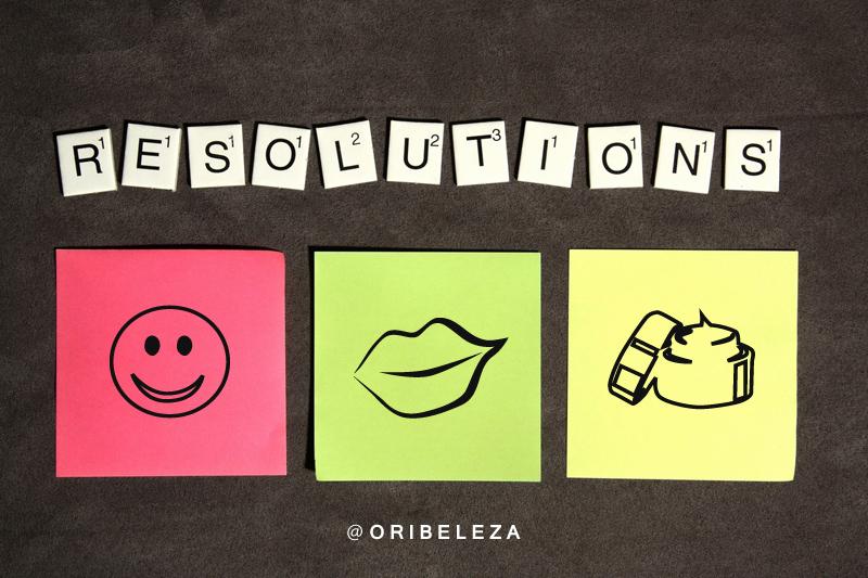 Resoluções de Beleza para 2017