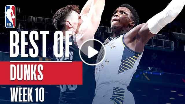 NBA's Best Dunks | Week 10 - December 24, 2018