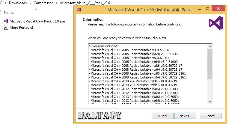 microsoft visual c++ 2017 redistributable package 32 bit windows 7
