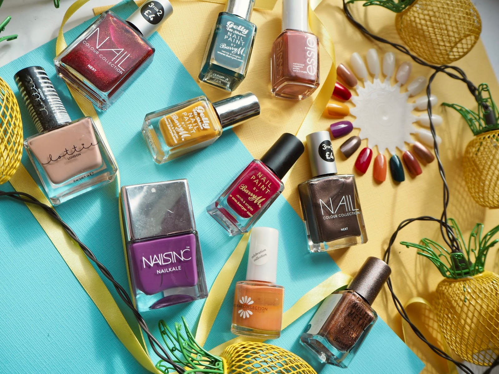 Top 10 Autumn Nail Varnishes
