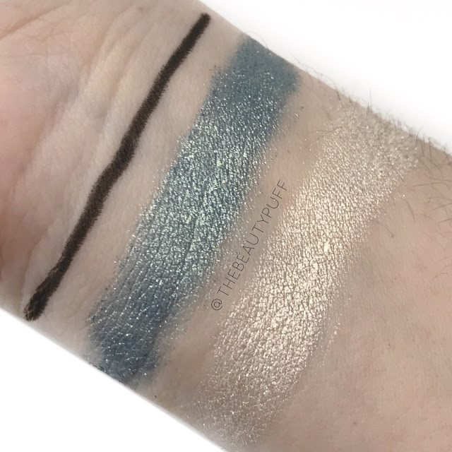 Osmosis Colour Eye Makeup Swatches |  The Beauty Puff