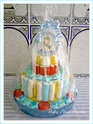 tarta chuches Real Madrid