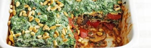 Vegetable Lasagne For Bodybuilders