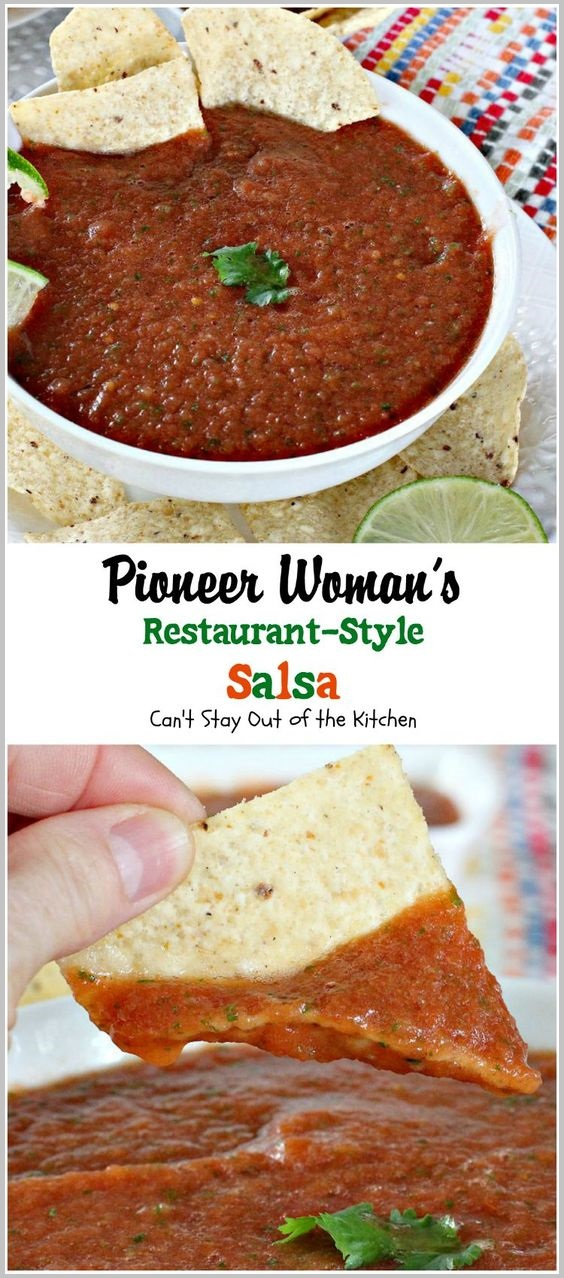 Restaurant-Style Salsa Recipes