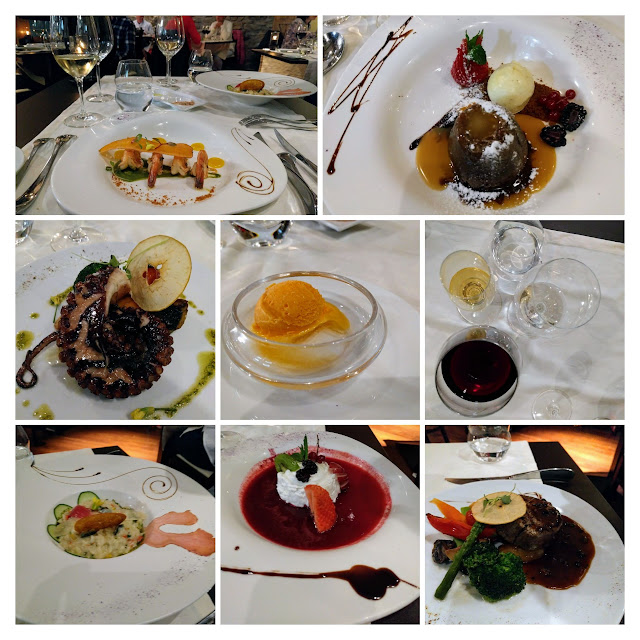 Gourmet meal served at Cris' Place in Funchal Madeira
