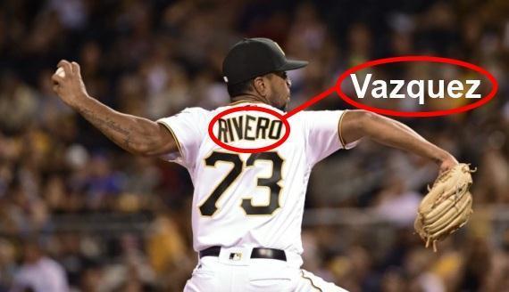 Ojo caraquistas el As relevista Felipe Rivero cambio su apellido a Vazquez
