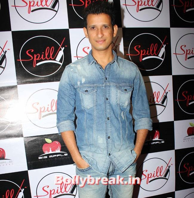 Sharman Joshi, Yuvika, Shifali at Launch of Spill Restobar