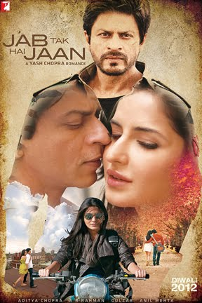 Shah Rukh Khan, Katrina Kaif, Anushka Sharma Jab Tak Hai Jaan Bollywood Movie is collect a share of 300 Crore, Jab Tak Hai Jaan had a final worldwide gross