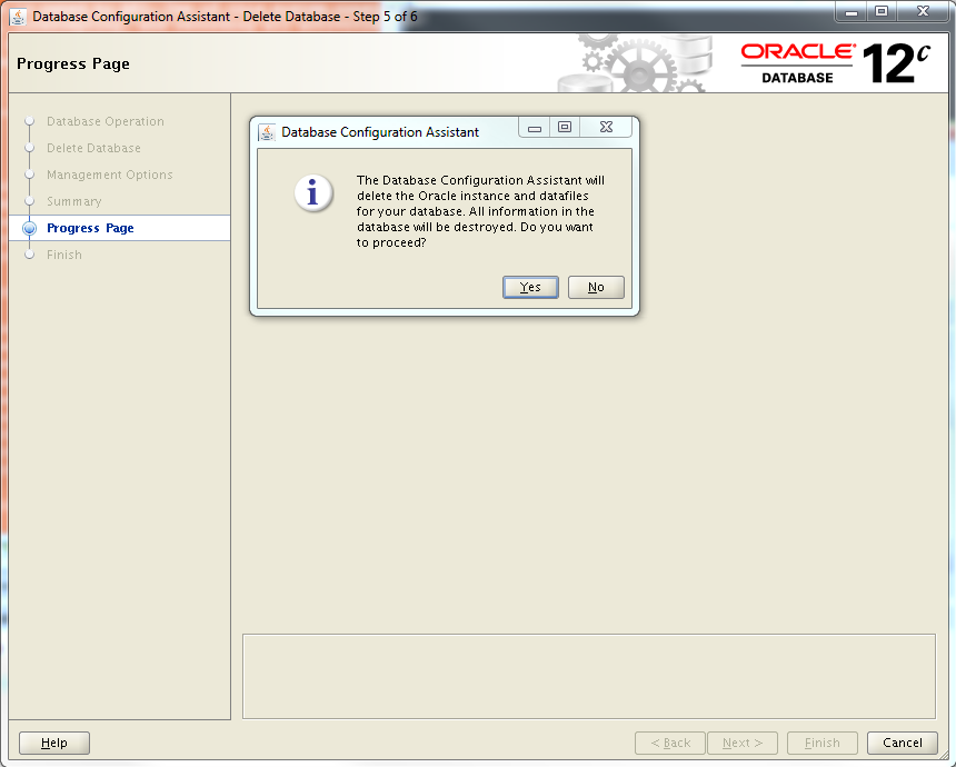 How To Manually Delete oracle Database Linux