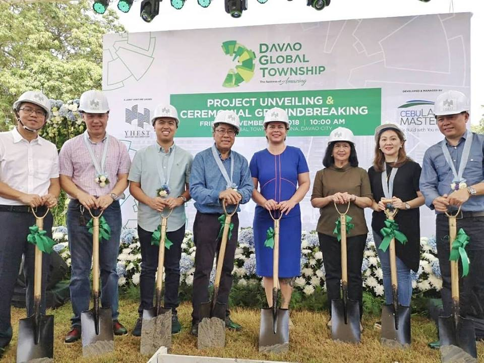 Davao Global Township Ground Breaking Ceremony