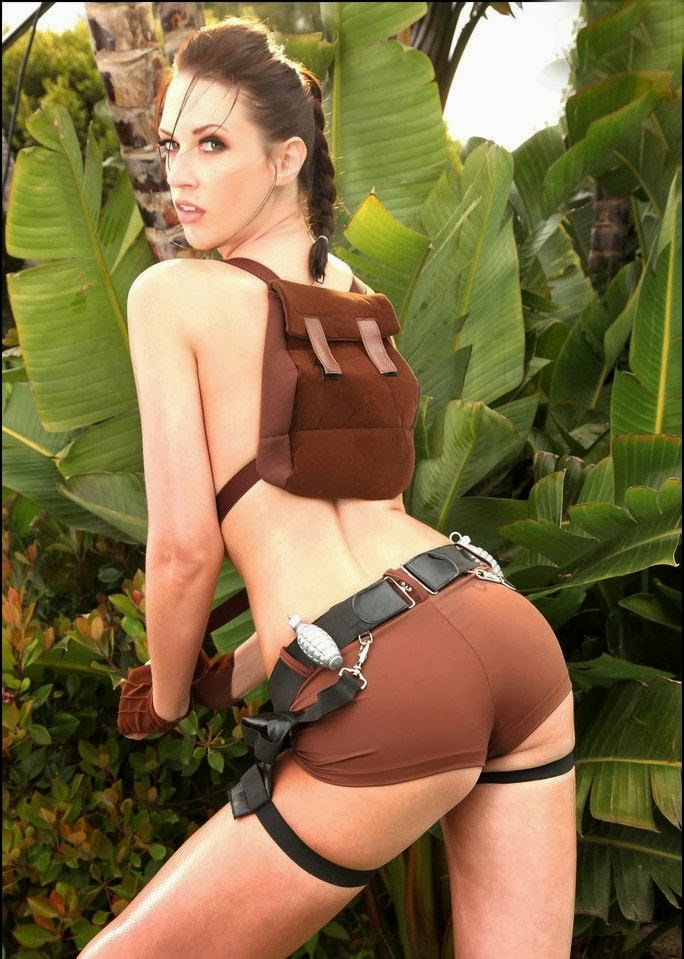Big Culo Day 2014: Lara Croft Cosplay