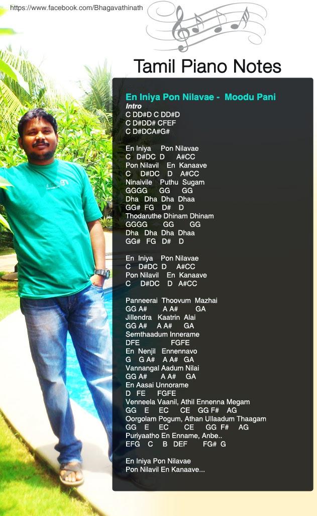 Tamil Piano Notes: 2015