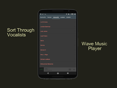 Wave Music Player PRO v1.09 Apk Terbaru