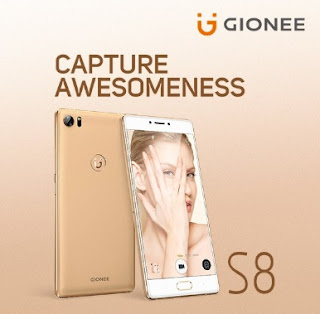 Hp Android 4G LTE Layar 5,5 Inci RAM 4GB Gionee S8