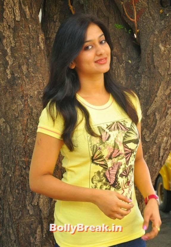 , Actress Varsha Ashwathi Hot Photos in Tight Blue Jeans