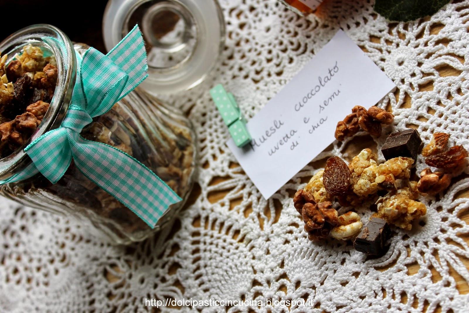 granola recipe chocolate almonds
