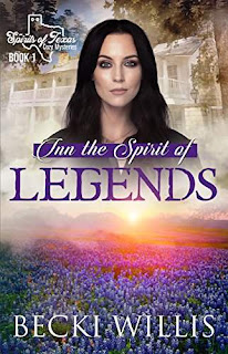 Inn the Spirit of Legends - a cozy mystery by Becki Willis