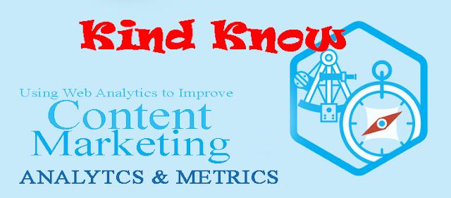 Using Web Analytics to Improve Content Marketing