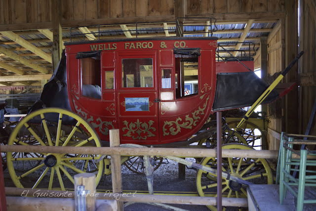 1880 Town - Dakota del Sur, diligencia Wells Fargo