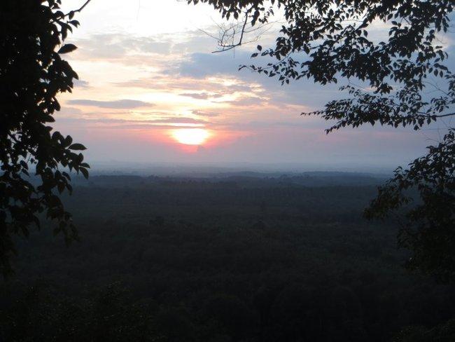 Рассвет с горы