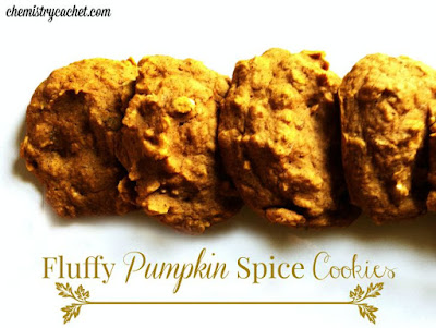 Fluffy Pumpkin Spice Cookies - Delicious Dessert Recipes - Tuesday Talk Features - www.sweetlittleonesblog.com