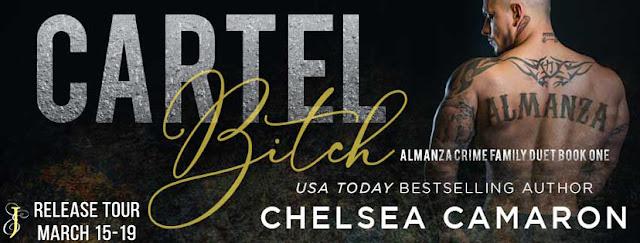 Release Blitz: Cartel Bitch by Chelsea Camaron