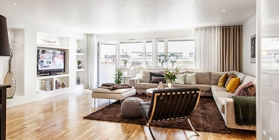 Idee de amenajare apartament 3 camere 92 m jurnal de for Idee living