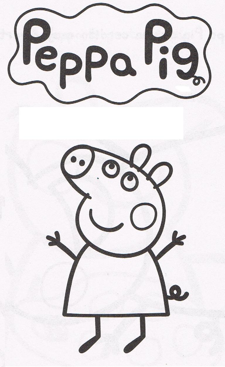 cositas entretenidas y faciles de hacer: dibujos de peppa pig para ...