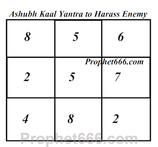 Lohe Ka Patra Yantra to Harass Enemy