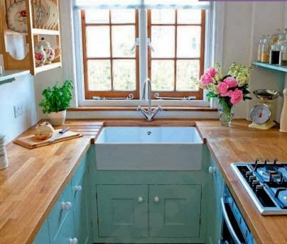 5 DECORATING IDEAS FOR SMALL SPACES IN KITCHEN