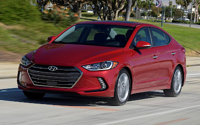 New 2017 Hyundai Elantra Red color Hd Photos