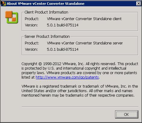 Vmware Vcenter Converter Standalone 5 1 Download Free